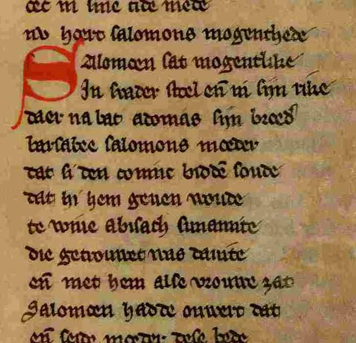 Detail van het fragment